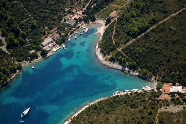 ruta en velero por Croacia