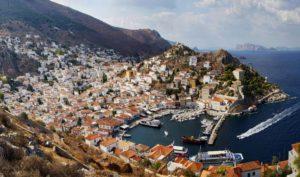 ruta en velero por Grecia