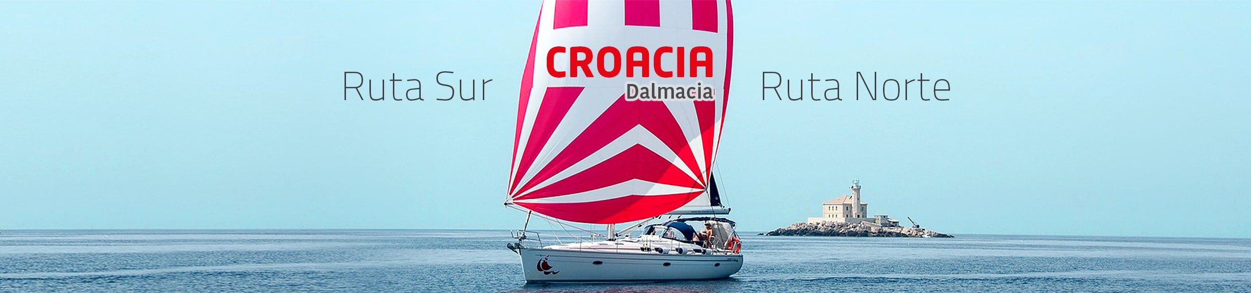 Velero plaza a plaza por Croacia